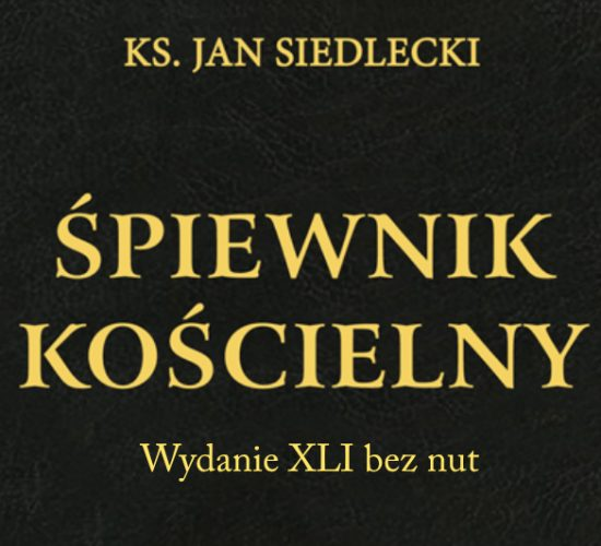 Śpiewnik Kościelny wydanie XLI bez nut
